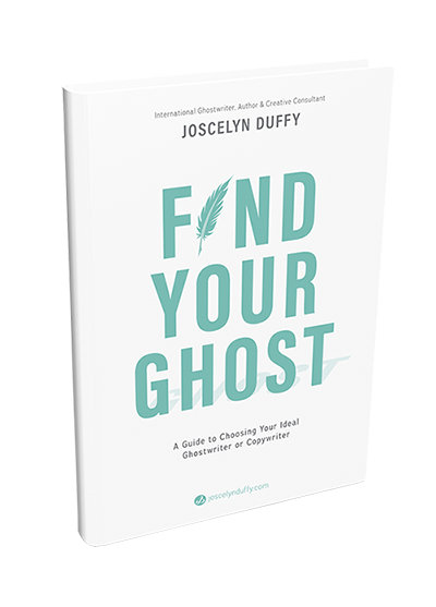 Joscelyn Duffy_book_Find Your Ghost