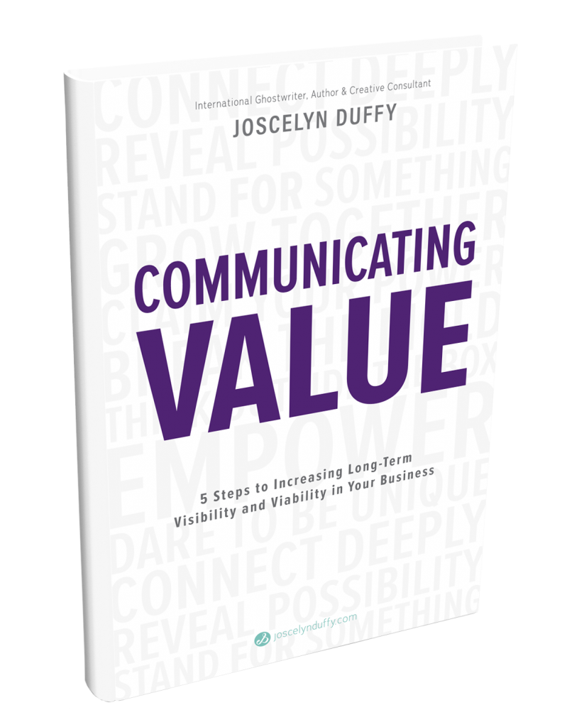 FREE Communicating Value eBook by Joscelyn Duffy